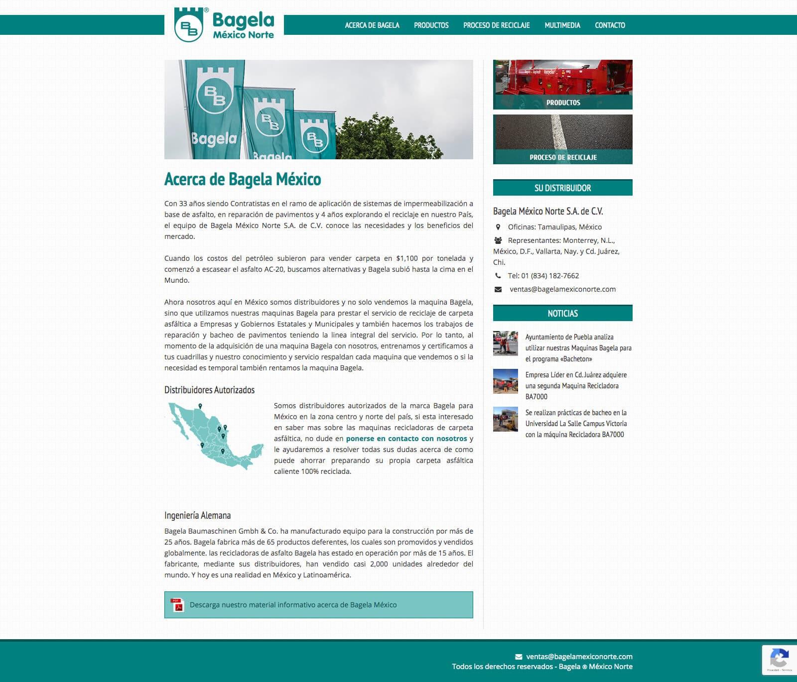 Bagela México Norte - Acerca