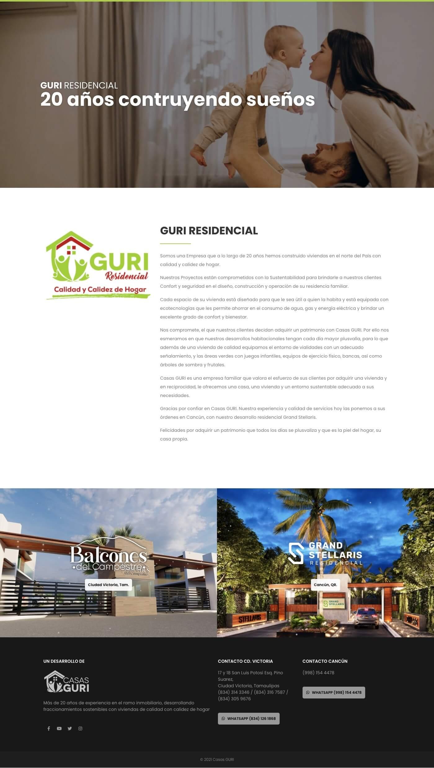 Guriresidencial - Home